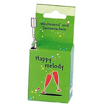 Fridolin - 59354 - Caja de música - Fin De Semana Y Sol: Amazon.es: Juguetes y juegos