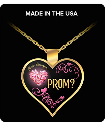 RC Rex Books Promposal for Her - Promposal Ideas - Promposal Gift - Promposal Jewelry - Promposal Necklace - Prom Invite Necklace ()