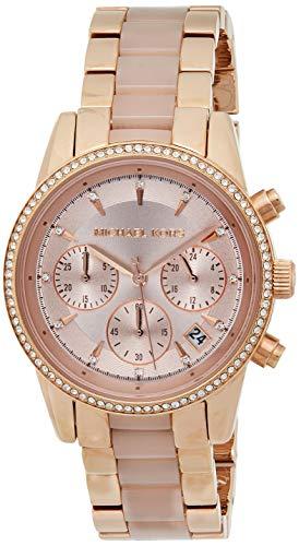 Michael Kors Women's Ritz Rose Gold-Tone Watch MK6307