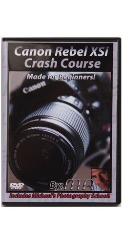 Canon XSI Crash Course Training Tutorial DVD | Made for Beginners! (Xsi Dvd)