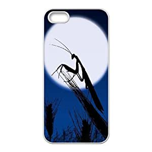 Cool Painting Praying Mantis Classic Personalized Phone Case for Iphone 5,5S,custom cover case case-311773