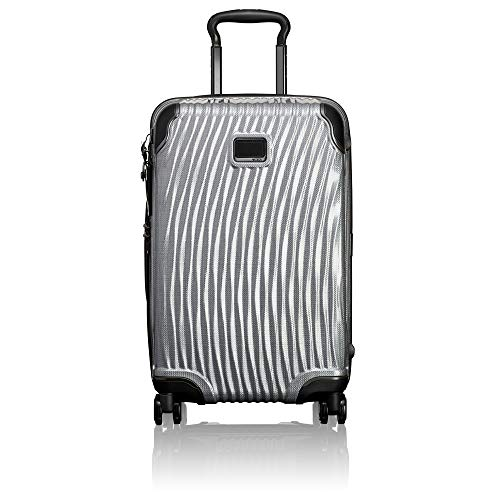 TUMI - Latitude International Hardside Carry-On Luggage - 22 Inch Rolling Suitcase for Men and Women - Silver