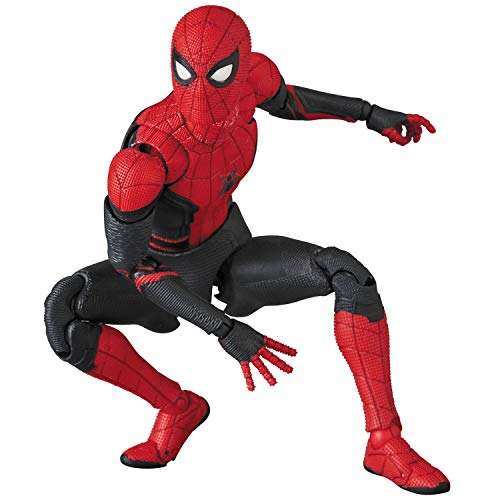 MAFEX muff《구스》 No.113 SPIDER-MAN Upgraded Suit 『SPIDER-MAN Far from Home』 전높음 약150mm 도장필 액션 피규어
