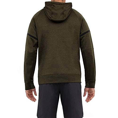 Layer 8 Men's Hoodie Performance Light Weight Training Workout Tech Fleece Athletic Sweatshirt Hoodie Top
