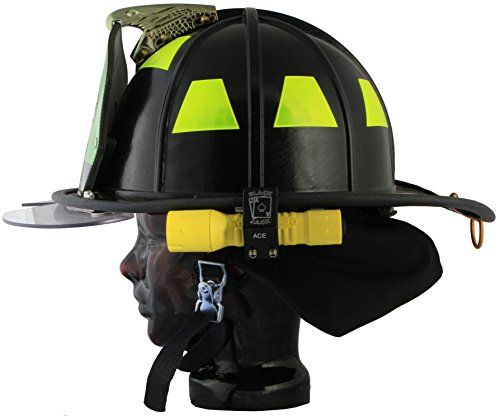 Blackjack ACE Firefighter Helmet Aluminum Flashlight Holder by Blackjack Fire & Safety (Image #6)
