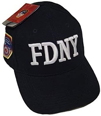 Anti Crime Security Inc. FDNY Gorro de Gorra de béisbol con ...