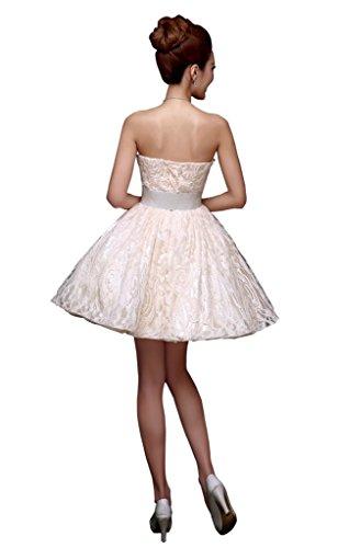Vestito Da Drasawee Corto Casa Bridemsmaid A Ritorno Da Da Spalline Champagne Abiti Senza Sera Partito Junior E1nqR1w