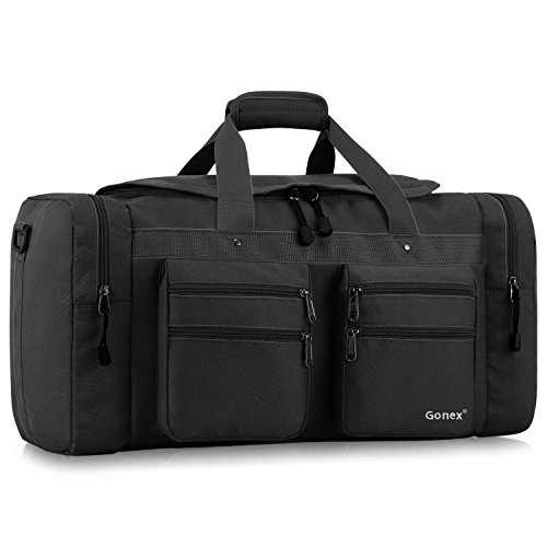 Gonex 45L Travel Duffel, Gym Sports Luggage Bag Water-resistant Many Pockets – DiZiSports Store