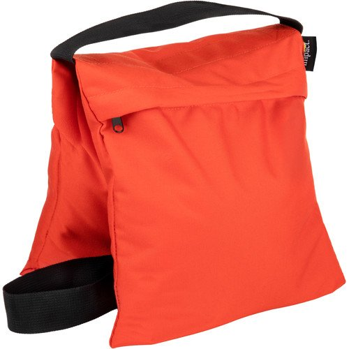 Impact Saddle Sandbag (25 lb, Orange) by Impact