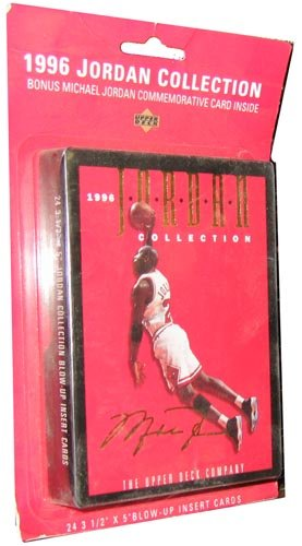1996 Upper Deck NBA Basketball '1996 Jordan Collection' Box 24 Card Set