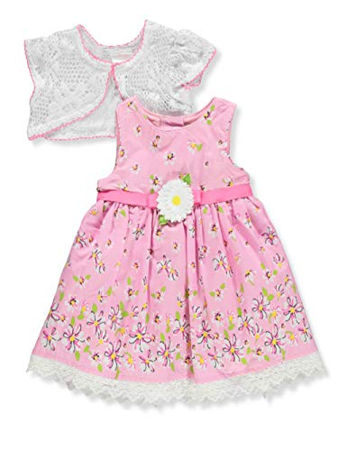 (Youngland Baby Infant Dress with Cardigan - Colors as Shown, 6-9 Months)