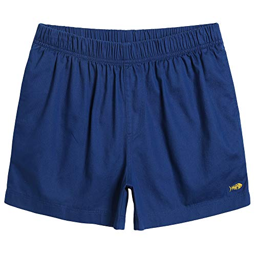 (MaaMgic Mens Casual Shorts Cotton with Pocket Outfit Shorts for Men Athletic Pants Royal Blue Large)
