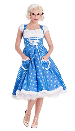 Kleid Horror Polka Dirndl Dot L 40 Shop SwUv8wxF