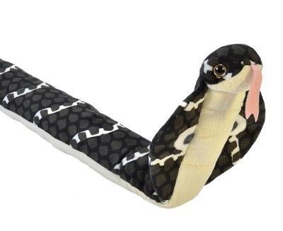 Wild Republic Hooded Cobra Plush (Stuffed Snake)
