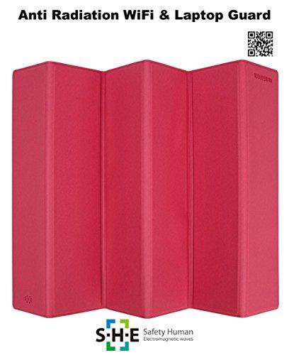(SHE Anti radiation EMF protection Electromagnetic shield : WiFi guard (Pink))