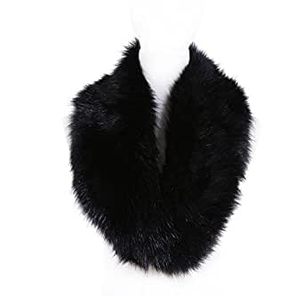 Soul Young Faux Fur Collar Women's Neck Warmer Scarf Wrap