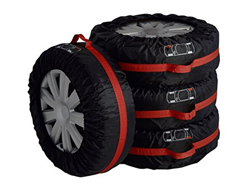 4pcs-polyester-taffeta-car-seasonal-spare-tyre-tire-protection-cover-carry-tote-handle-storage-bags-