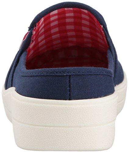 White Reverb Flache Ryka Medieval Frauen Schuhe Blue Red gHgq0z