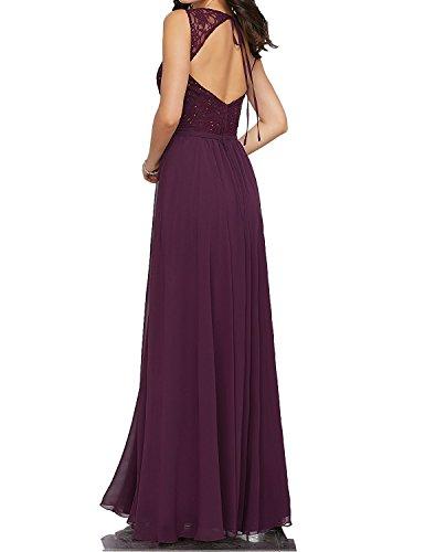 trapecio Topkleider Vestido Lilac para mujer UUqwC5a