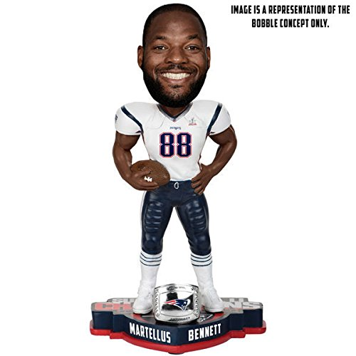 Martellus Bennett New England Patriots Super Bowl Li Champions Player Bobblehead