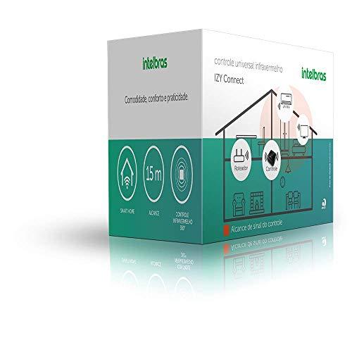 IZY Connect, Smart Controle Universal Infravermelho intelbras, Compatível com Alexa, Preto