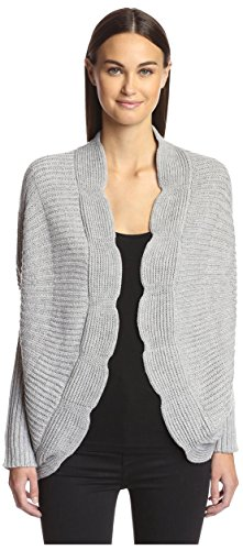 Love Token (Love Token Women's Peyton Cardigan, Grey, XS)