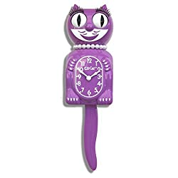 Limited Edition Radiant Orchid Lady Kit-Cat Klock by Kit-Cat