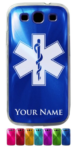 Case For Galaxy S3 Siii - Star of Life - Personalized Engraving Included