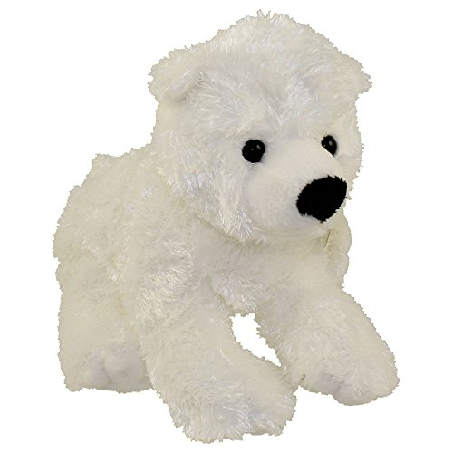 """Adventure Planet Polar Bear Plush Toy / Super-Soft 10"""" Stuffed Animal / Affordable Unique Gift and Souvenir for Your Little One!"""