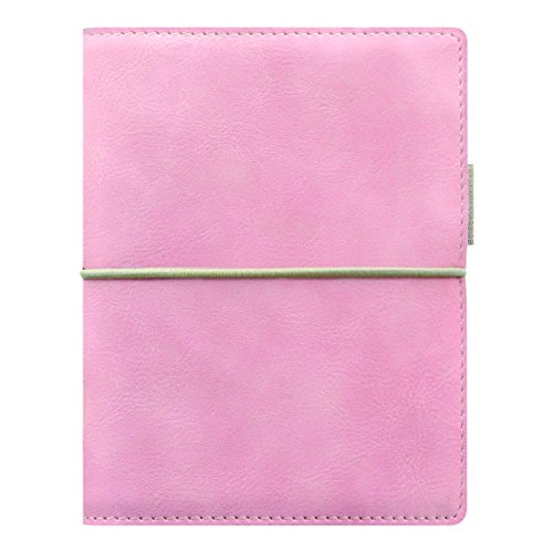 Pen Pink Filofax (Filofax 2018 Domino Soft Organizer, Pocket (4.75 x 3.25), Soft Pale Pink, Planner with to do and Contacts Refills, Indexes and Notepaper (C022581-18))