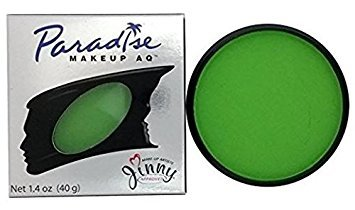 Paradise Makeup AQ 40g Face & Body Paint (Light Green) (Green Face Makeup)