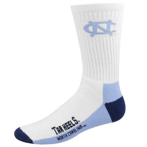 NCAA North Carolina Tar Heels Men's Crew Socks, (Unc Basketball Shorts)