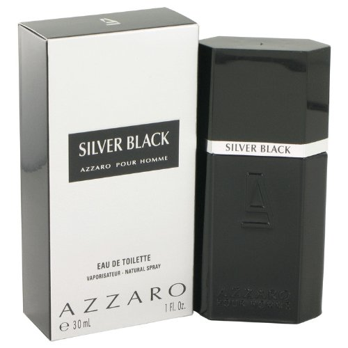 Silver Black Men Eau De Toilette Spray by Loris Azzaro, 1 (Silver Black Eau De Toilette)
