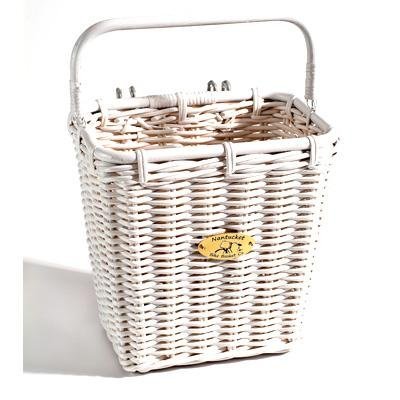 Nantucket Bicycle Basket Co Pannier Basket with Hooks
