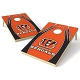 Wild Sports NFL Cincinnati Bengals 2′ x 3′ V Logo Cornhole Game Set