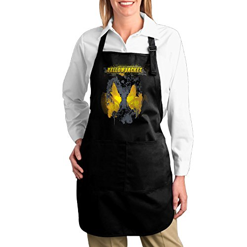 FUNNY MOPAD The Yellowjacket Ant-Man Kitchen Apron With Front Pockets