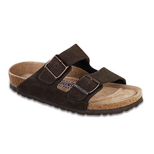 9319faf184 Birkenstock Arizona Soft Footbed Mocha Suede Regular Width - EU Size 46    Men s US Size 13-13.5 (B000W0ETDC)
