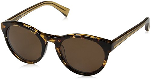 Cole Haan Ch6008s Round Sunglasses, Amber Tortoise, 50 - Sunglasses Trends 2017 Mens