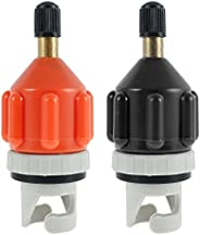 Inflatable SUP Pump Adaptor,2 Pack Air Pump Converter with Standard Conventional Air Valve Attachment for Infl