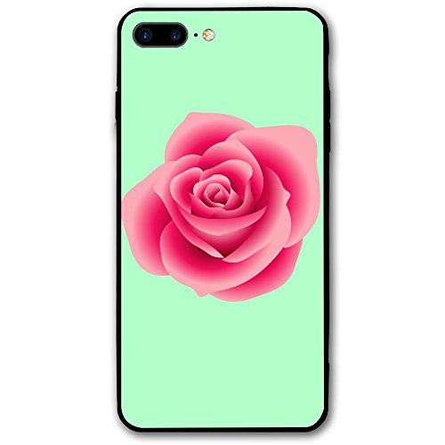 Pink Rose Clipart - Real-pink-rose-clipart-1 Apple IPhone 8 Plus Case Rugged PC Back Cover For IPhone 8 Plus Case 5.5 Inch
