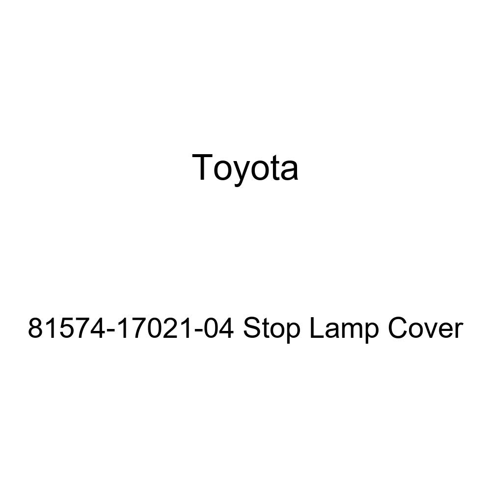 TOYOTA Genuine 81574-17021-04 Stop Lamp Cover