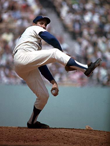 La Dodgers Sandy Koufax 11 x 14 Canon Film - Koufax Photograph Sandy
