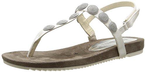 Tamaris 28168, Womens Flip-Flops White (White (100))