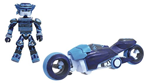 DIAMOND SELECT TOYS Kingdom Hearts: Tron Light Cycle Minimates Deluxe Box Set