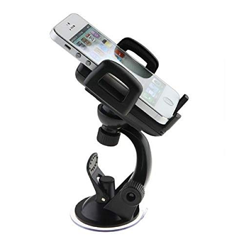 Shopiable Mobile Holder with Multi Angle Adjustable Quick Stand for Car Dashboard