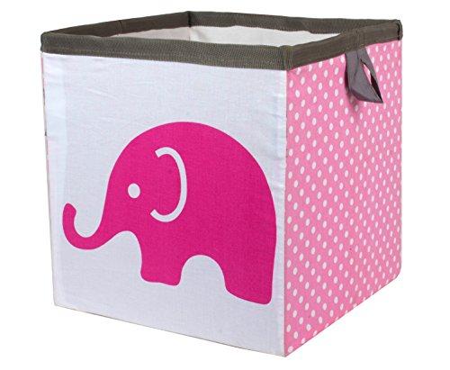Bacati Elephants Storage Basket Small product image