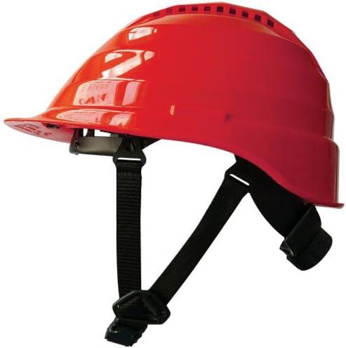 Ranking TOP10 Regular store Rockman Forestry Arborist Vented - Helmets Red