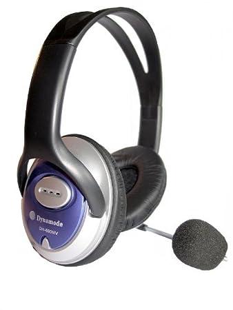 NUOVO Dynamode Cuffie Stereo DH-660 copertura completa ear con microfono regolabile