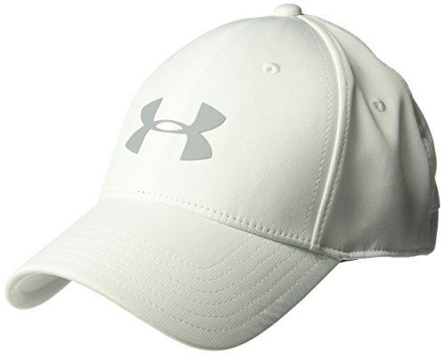 - Under Armour Men's Storm Headline Cap, White (100)/Steel, Large/X-Large