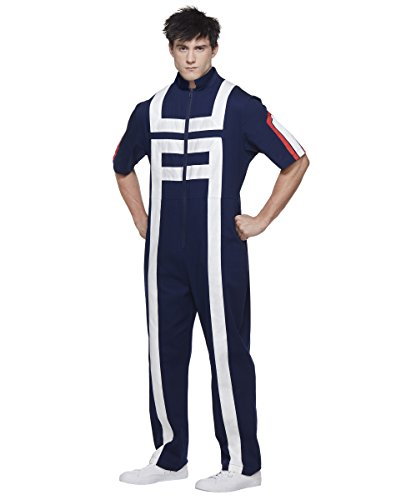 Tracksuit Costume (Spirit Halloween Adult My Hero Academia Gym Tracksuit - My Hero Academia)